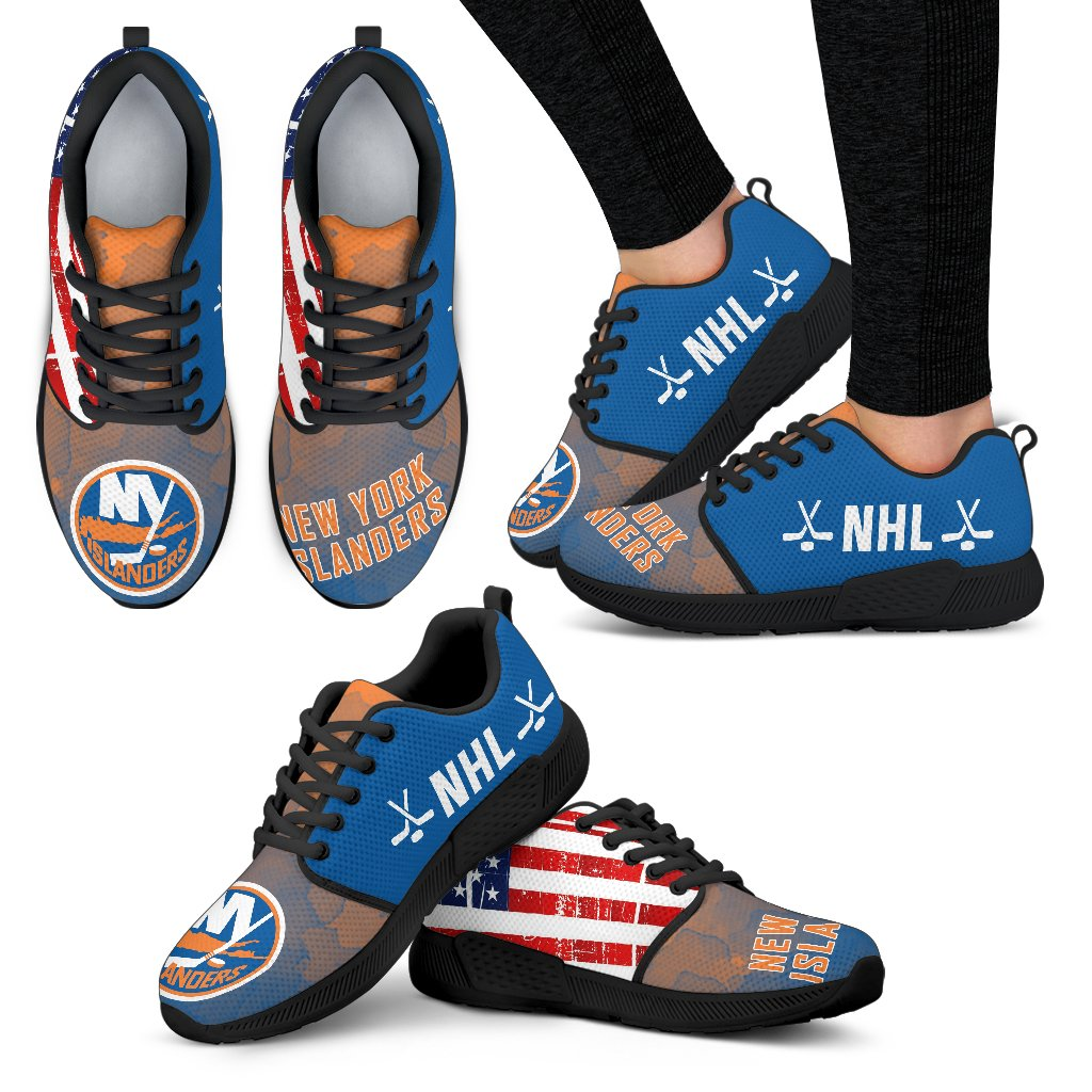 Awesome Fashion New York Islanders Shoes Athletic Sneakers