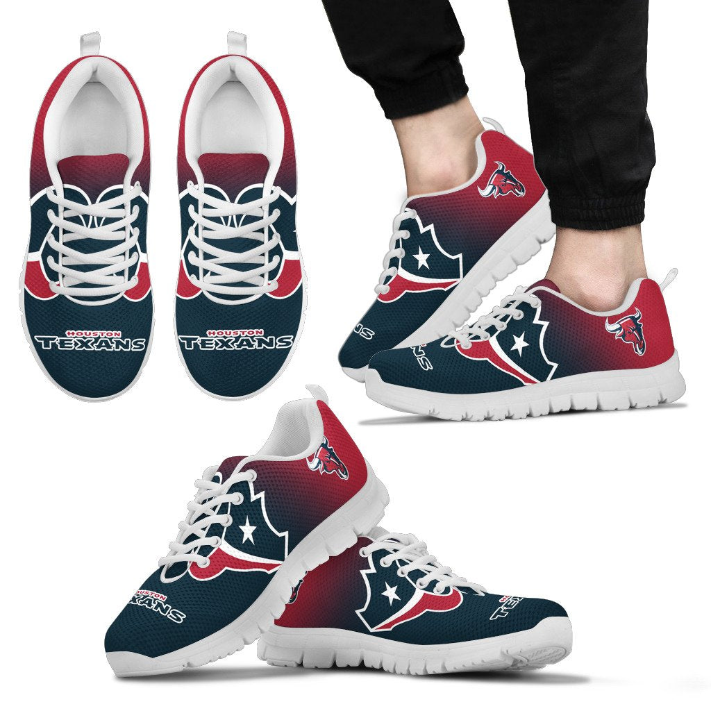 Awesome Unofficial Houston Texans Sneakers