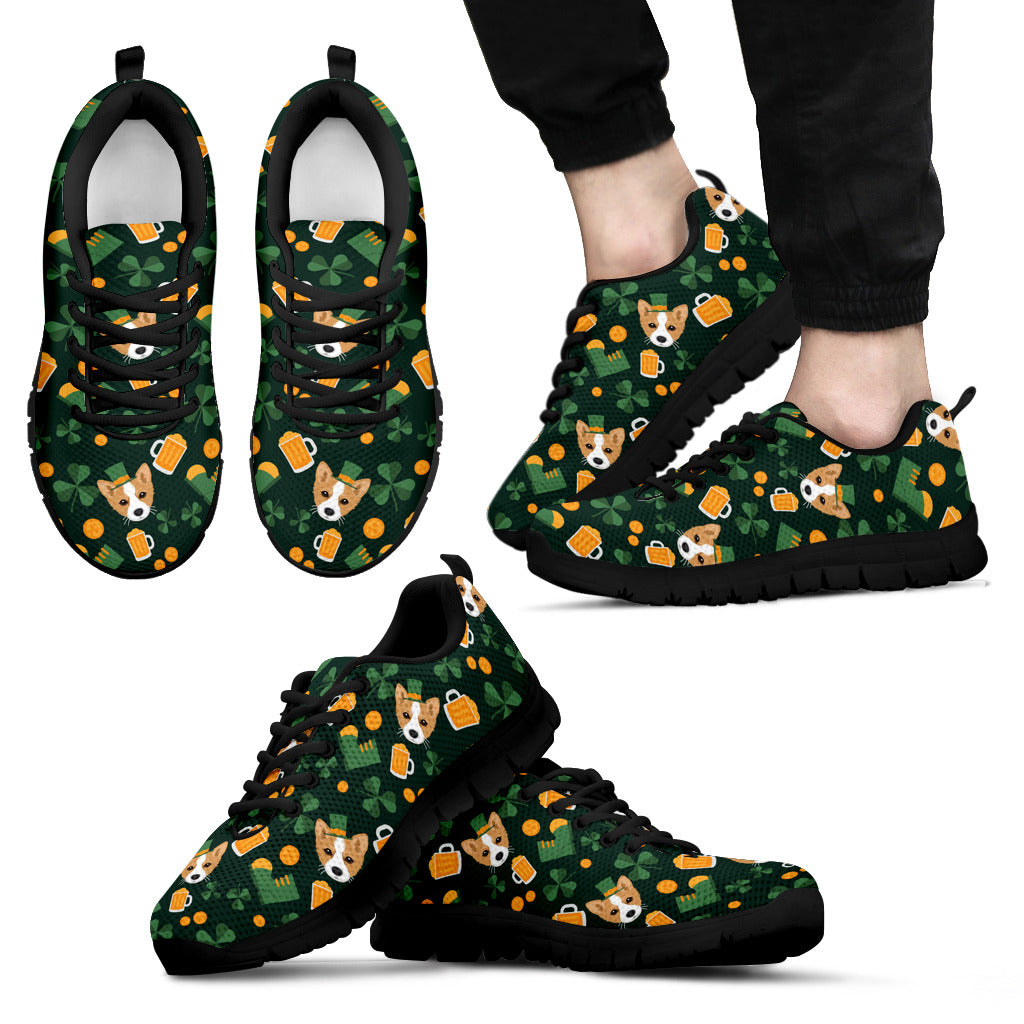 Nice Corgi Sneakers - Lucky Corgi, is a cool gift for friends
