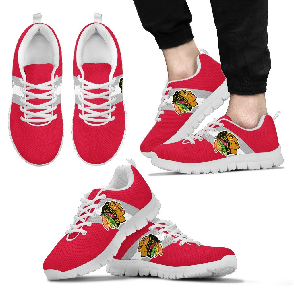 Colors Vertical Chicago Blackhawks Sneakers