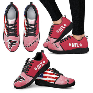 Awesome Fashion Atlanta Falcons Shoes Athletic Sneakers