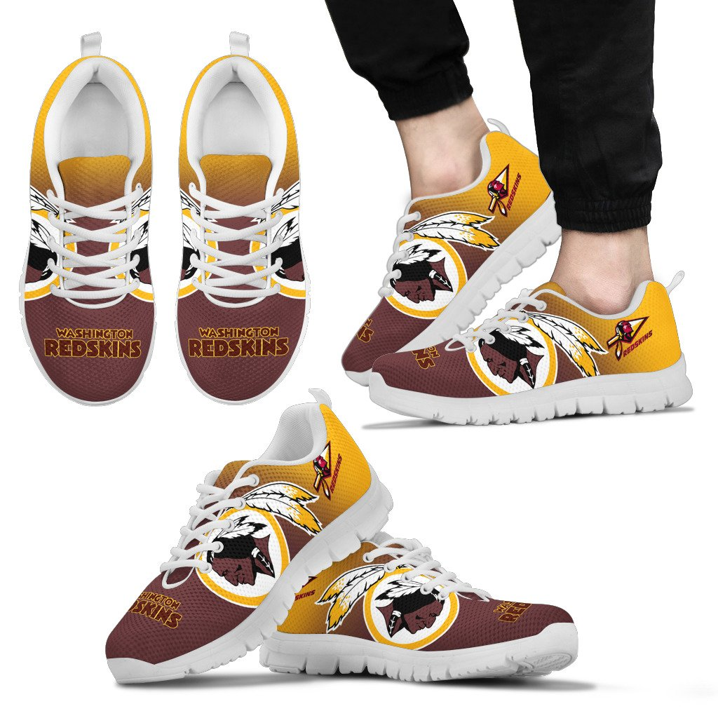 Awesome Unofficial Washington Redskins Sneakers