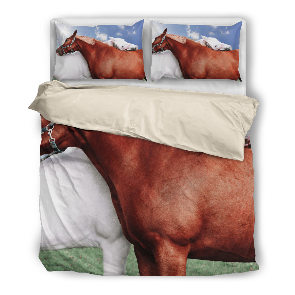 Horse Vintage Beddings Set HD4