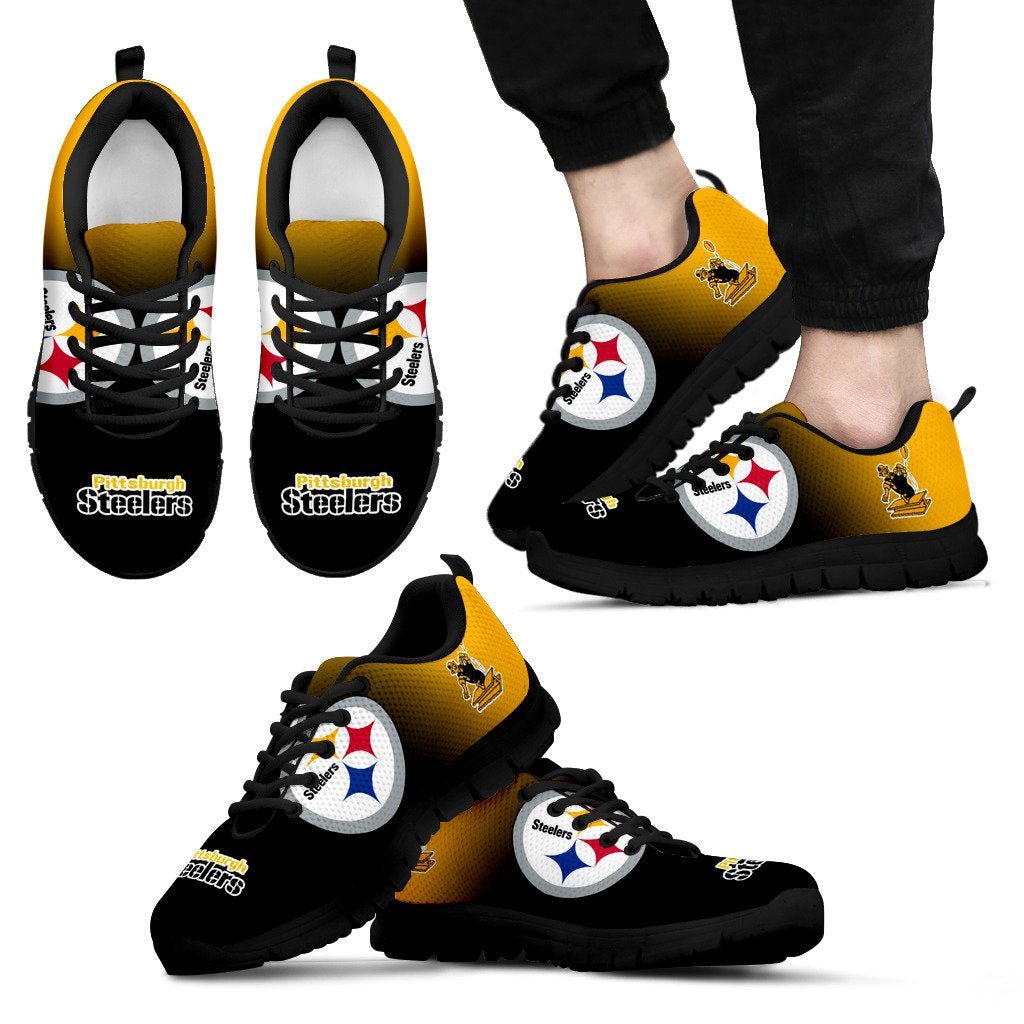 Awesome Unofficial Pittsburgh Steelers Sneakers