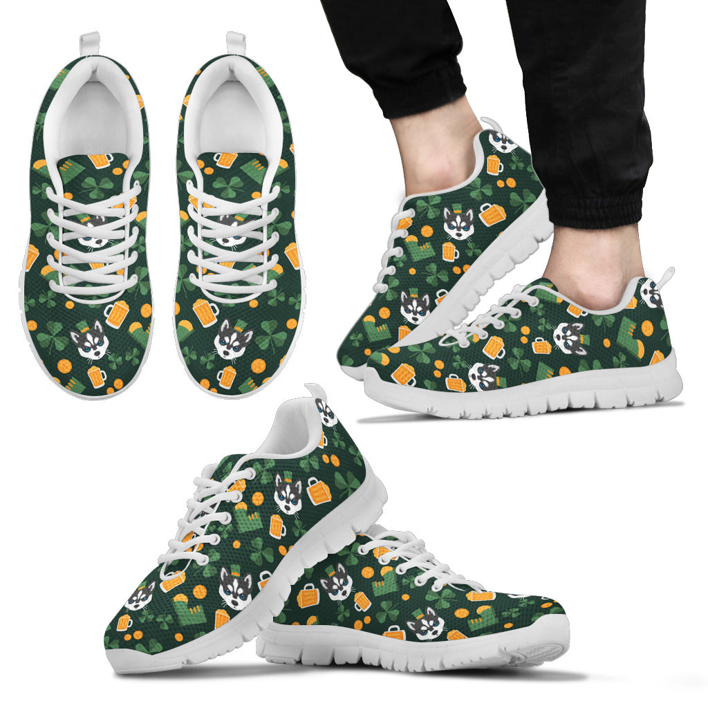 Nice Husky Sneakers - Lucky Husky, is a cool gift for friends