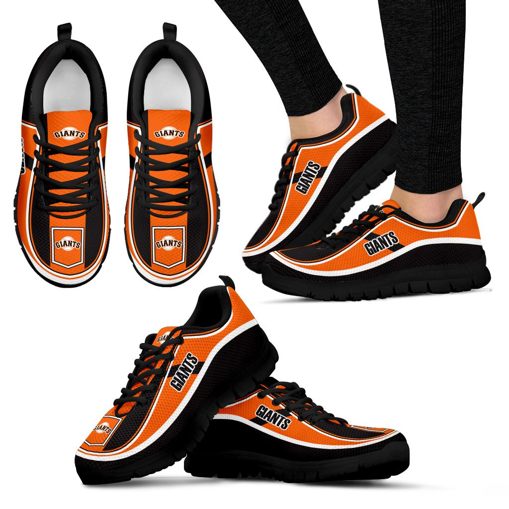 Simple Color Flag San Francisco Giants Sneakers