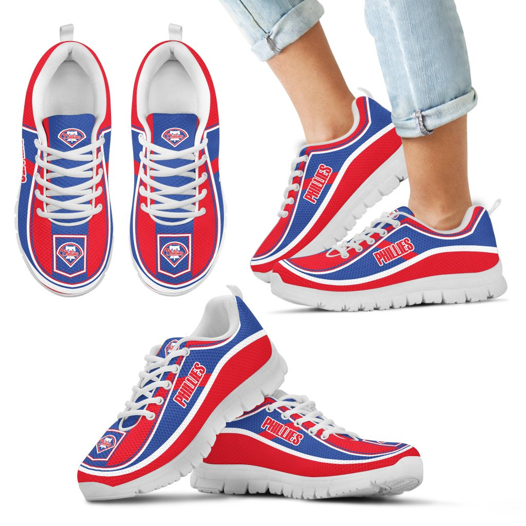 Simple Color Flag Philadelphia Phillies Sneakers