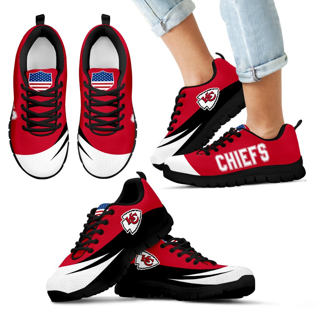 Special Gift Logo Kansas City Chiefs Sneakers
