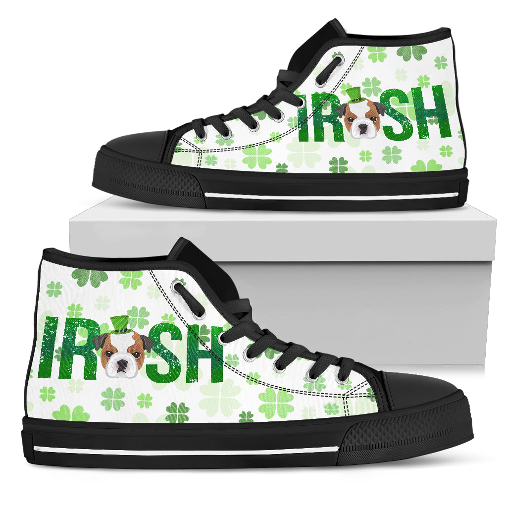 Irish Pitbull High Top Shoes