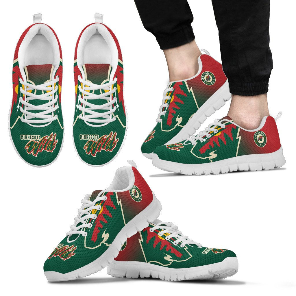 Awesome Unofficial Minnesota Wild Sneakers