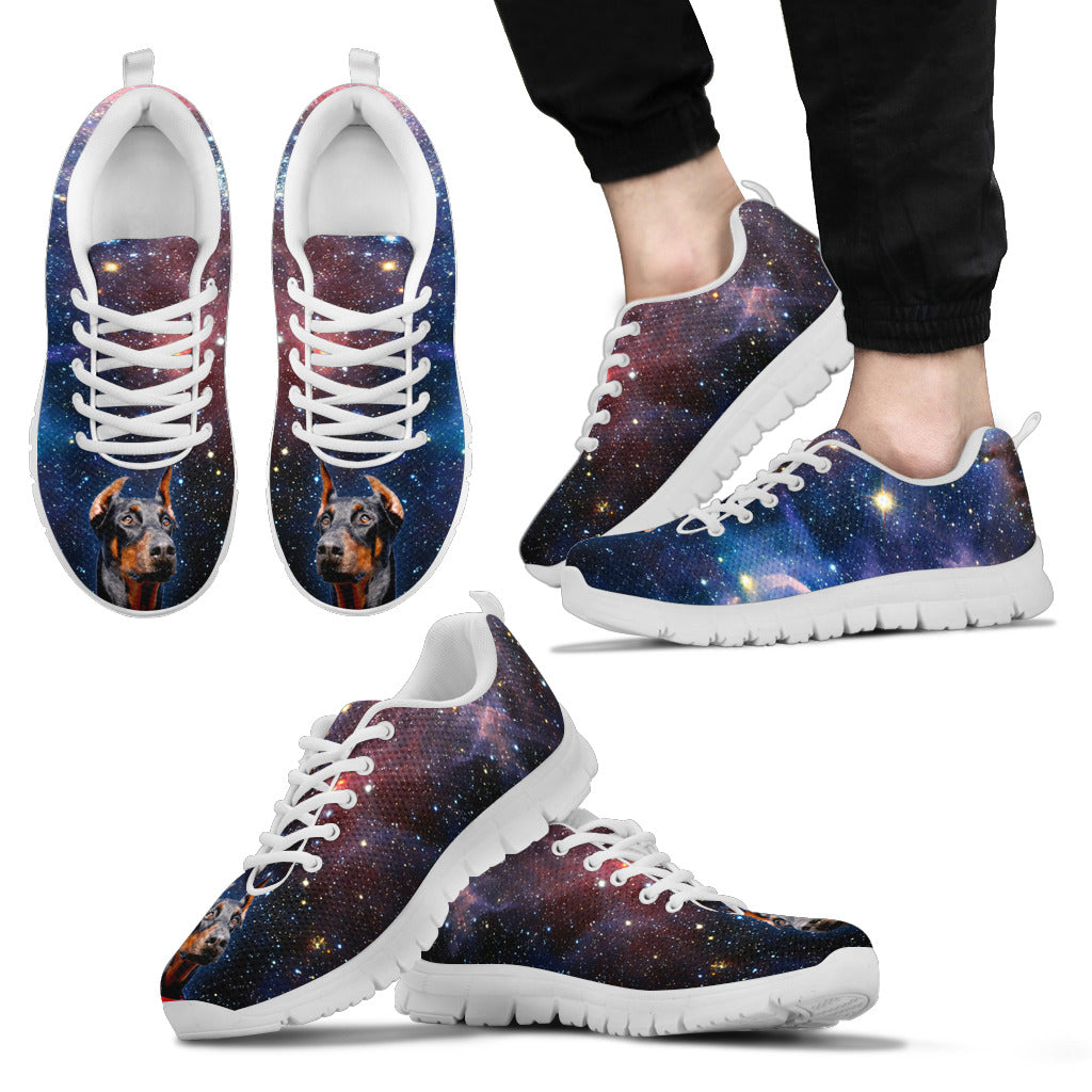 Nice Doberman Sneakers - Galaxy Sneaker Doberman, is cool gift for you