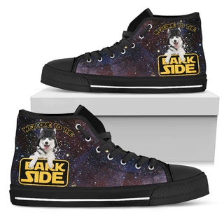 Star Paws Husky High Top Shoes