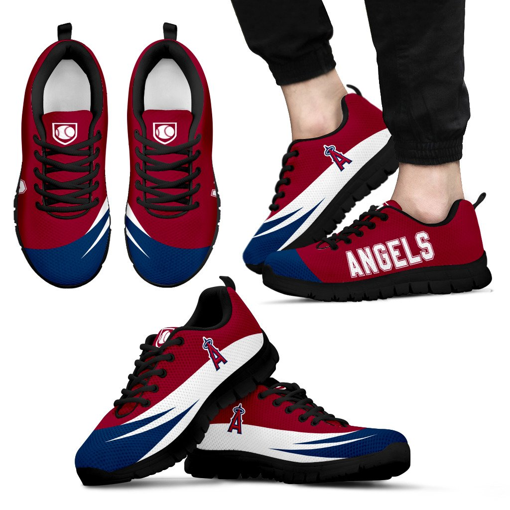 Special Gift Logo Los Angeles Angels Sneakers