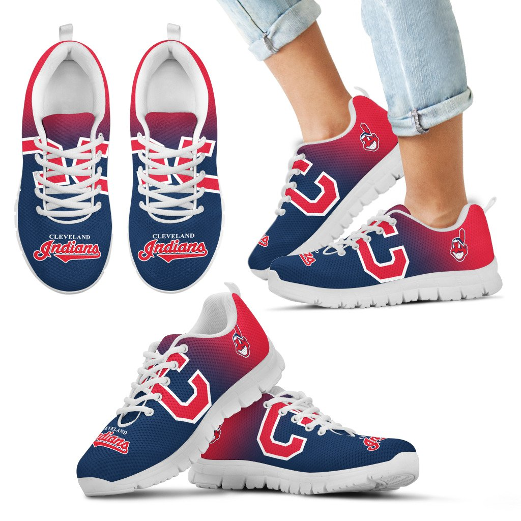 Awesome Unofficial Cleveland Indians Sneakers