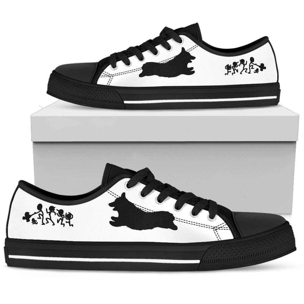 My Corgi Ate Your Stick Family Low Top Shoes