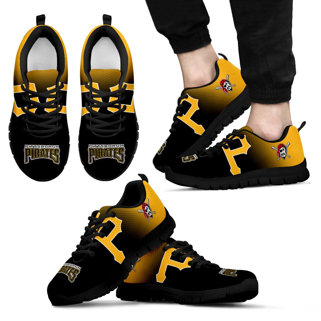 Awesome Unofficial Pittsburgh Pirates Sneakers