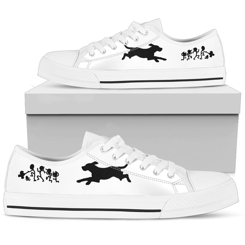 My Beagle Ate Your Stick Family Low Top Shoes