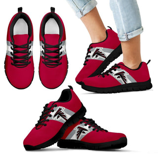 Colors Vertical Atlanta Falcons Sneakers