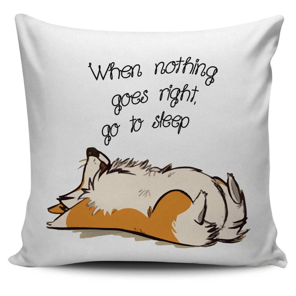 Cute Dog Pillow Covers - Every Time Is Nap Time Ver 3, is a gift