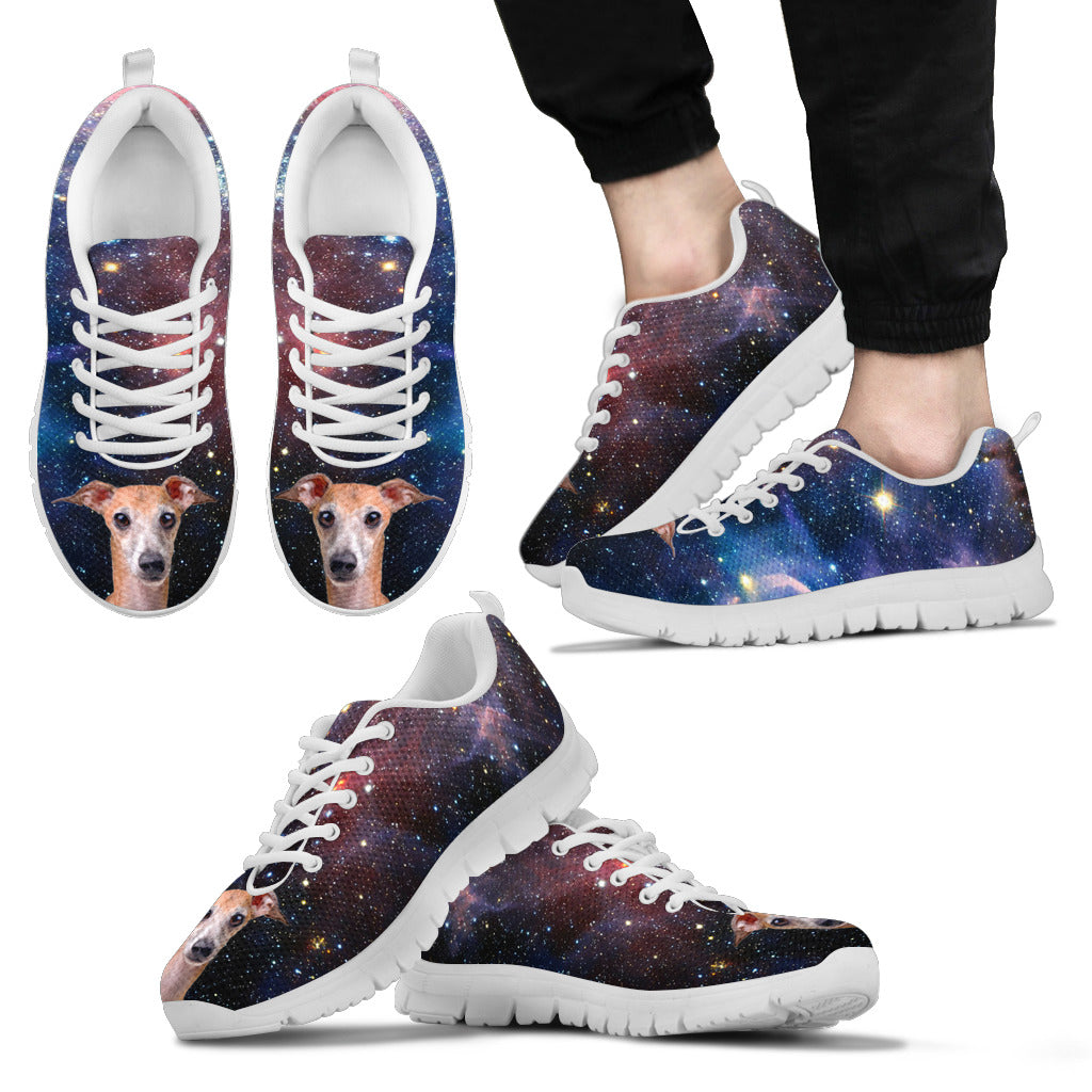 Nice Greyhound Sneakers - Galaxy Sneaker Greyhound, is cool gift for friends