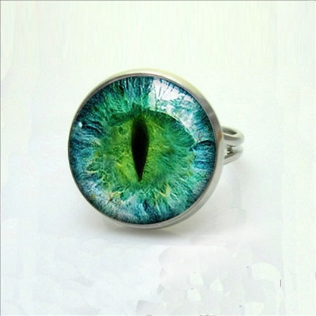 Vintage Glass For Cat Eye Rings