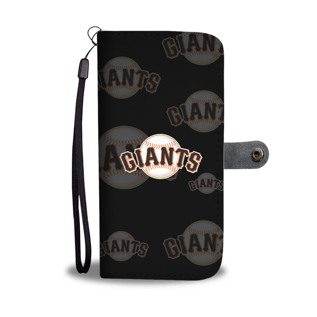 San Francisco Giants Logo Background Wallet Phone Cases
