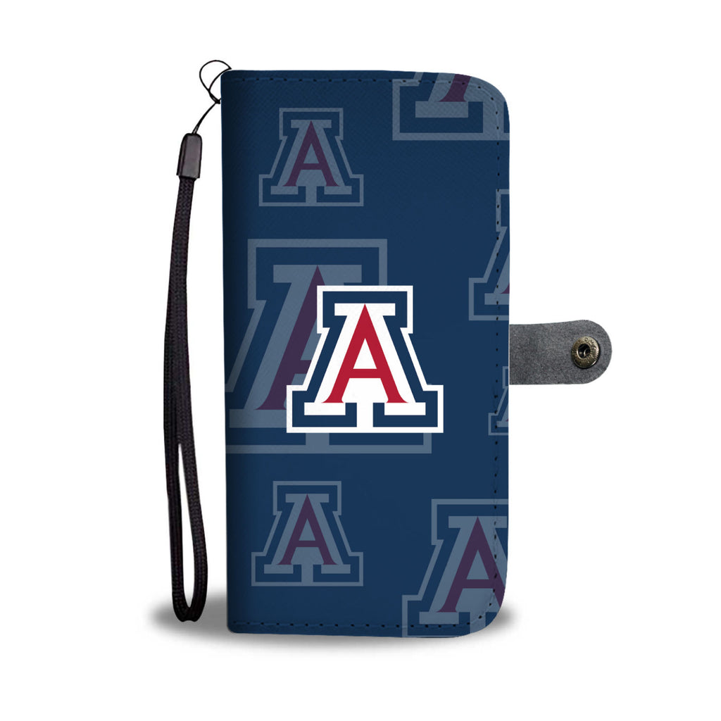 Arizona Wildcats Logo Background Wallet Phone Cases