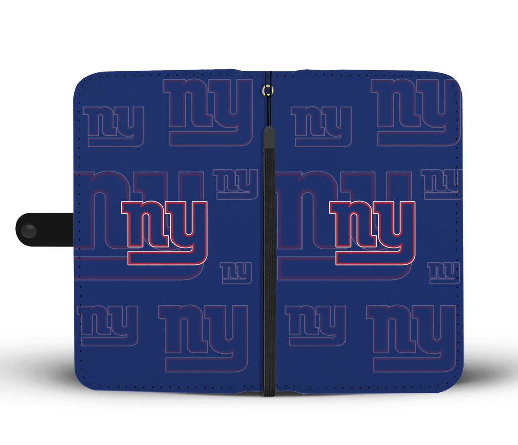 New York Giants Logo Background Wallet Phone Cases