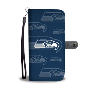 Seattle Seahawks Logo Background Wallet Phone Cases