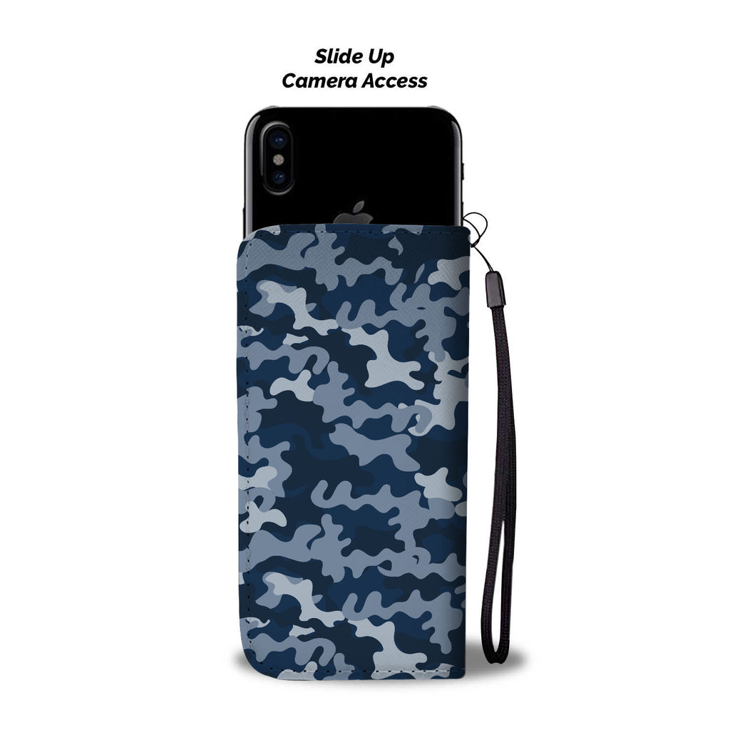 Gorgeous Camo Pattern Akron Zips Wallet Phone Cases