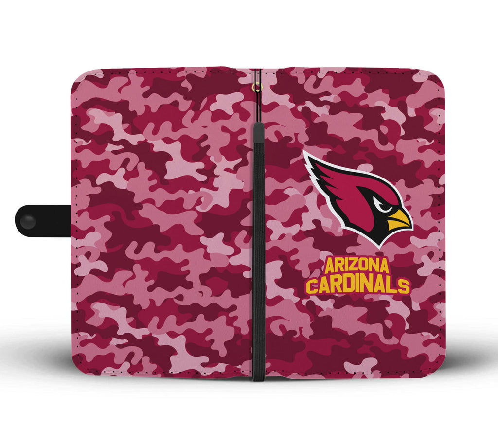 Gorgeous Camo Pattern Arizona Cardinals Wallet Phone Cases