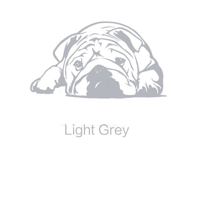 Bulldog Dog Wall Stickers