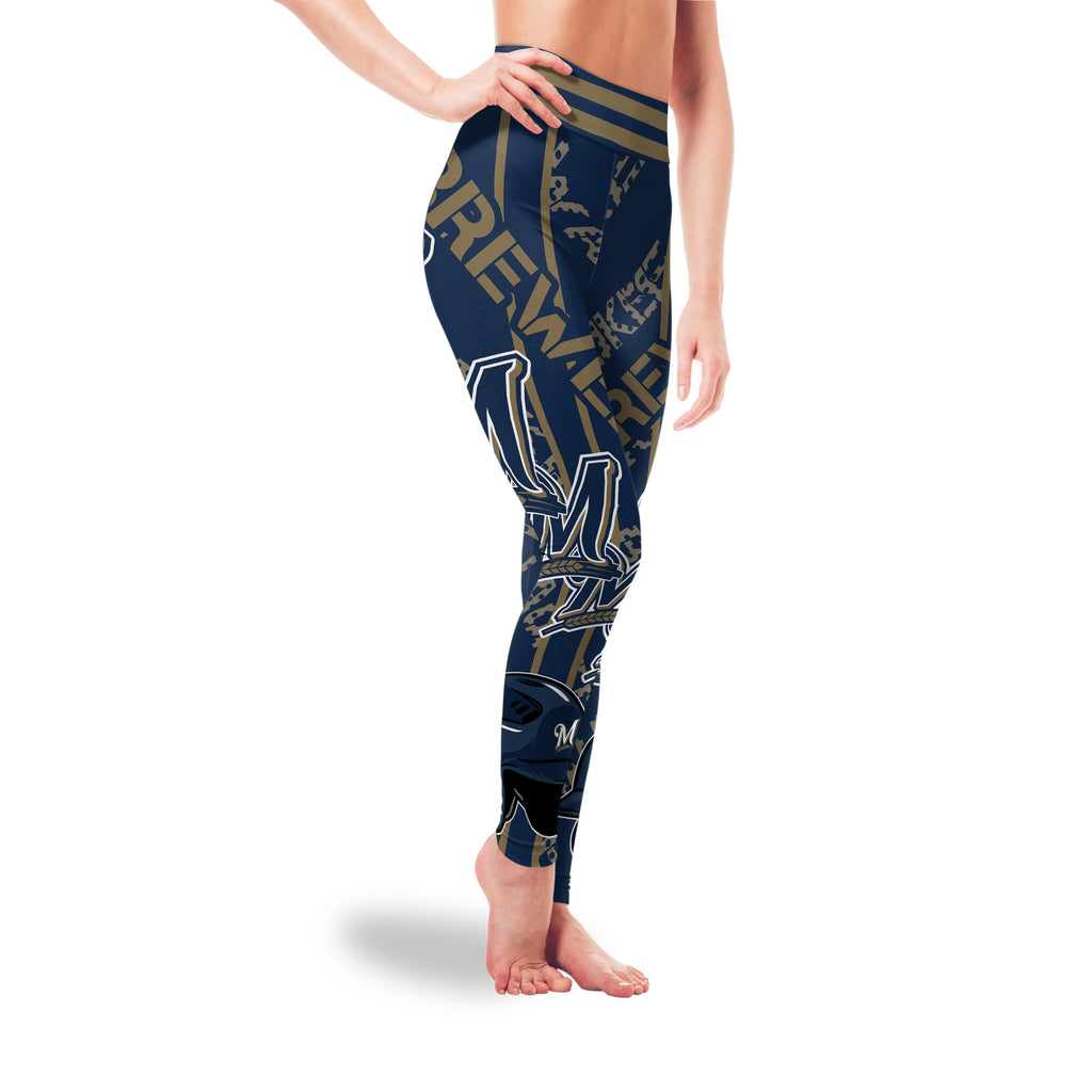 Sign Marvelous Awesome Milwaukee Brewers Leggings