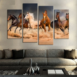 Horse Modern Home Wall Decor Canvas Picture Art
