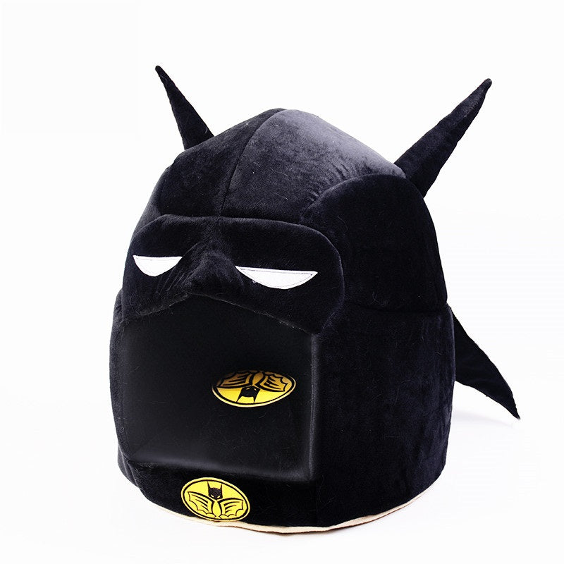 Batman Shape Dog House Beds And Mats