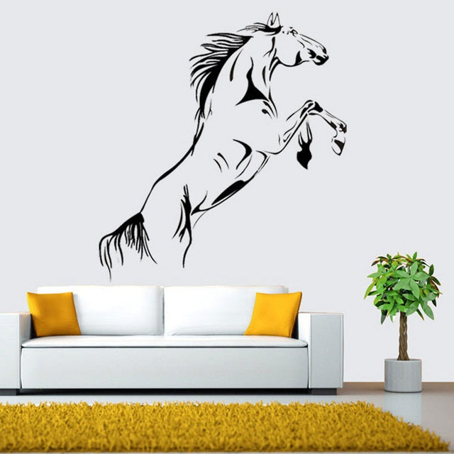 Running Horse Wall Stickers