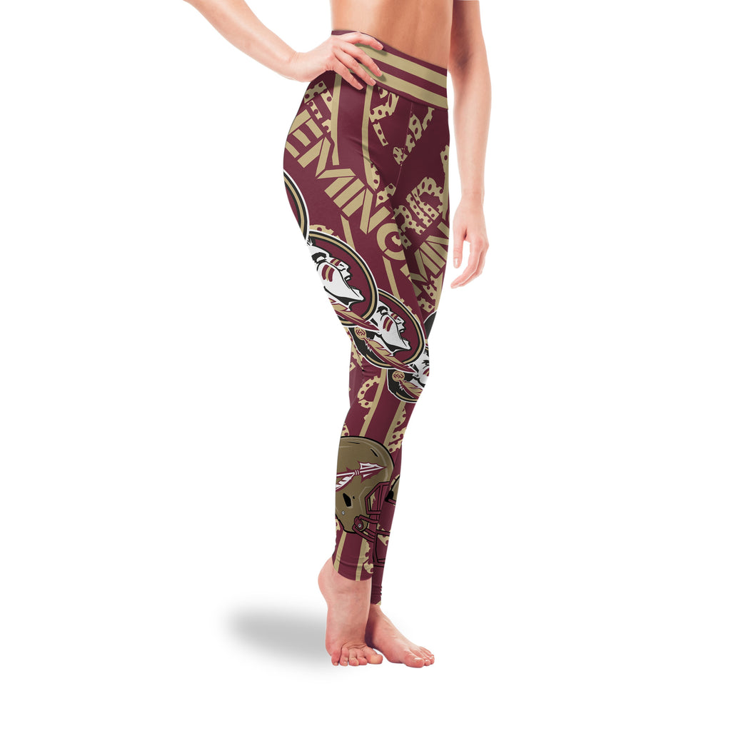 Sign Marvelous Awesome Florida State Seminoles Leggings