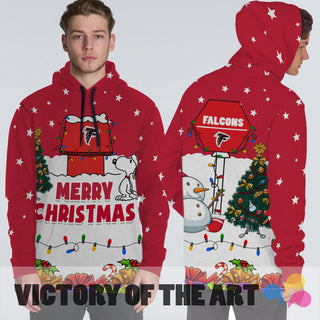 Funny Merry Christmas Atlanta Falcons Hoodie 2019