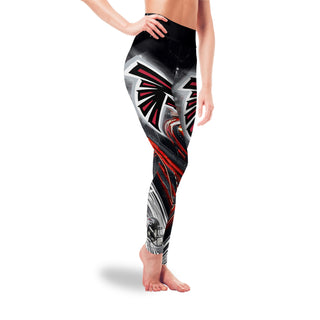 Great Urban Night Scene Atlanta Falcons Leggings