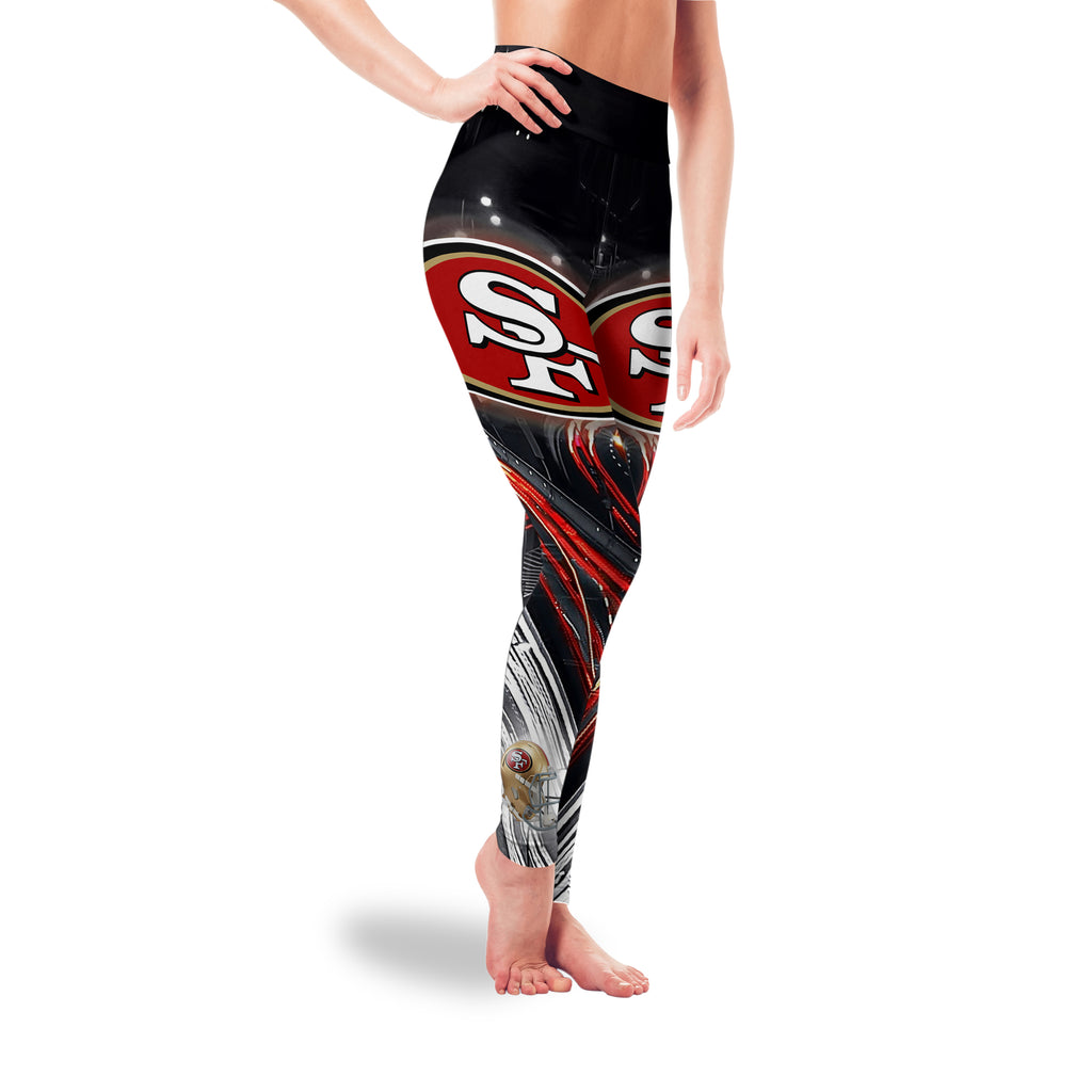 Great Urban Night Scene San Francisco 49ers Leggings