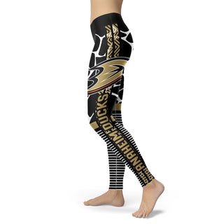 Awesome Light Attractive Anaheim Ducks Leggings