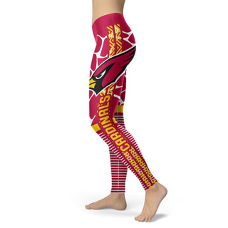 Awesome Light Attractive Arizona Cardinals Leggings