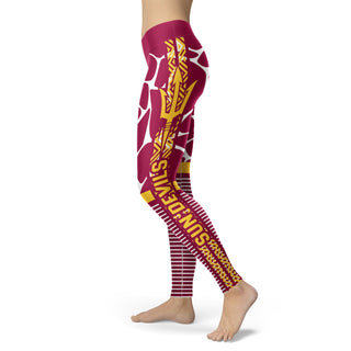 Awesome Light Attractive Arizona State Sun Devils Leggings