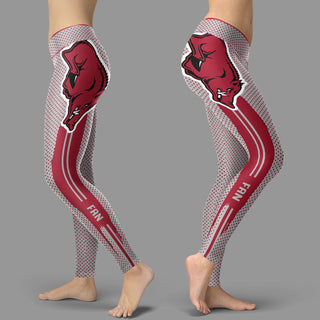 Charming Lovely Fashion Arkansas Razorbacks Leggings