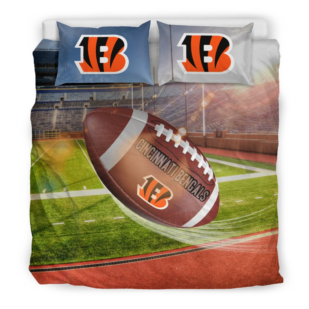 Pro Shop Sunshine And Raining Cincinnati Bengals Bedding Sets