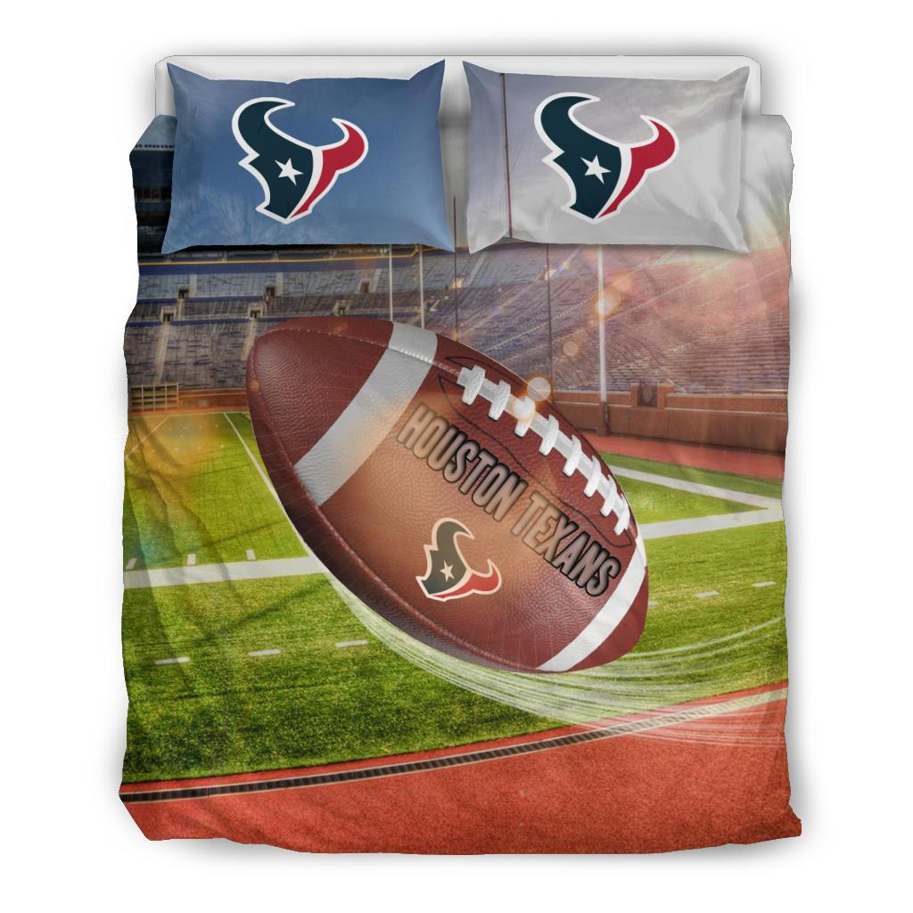 Pro Shop Sunshine And Raining Houston Texans Bedding Sets
