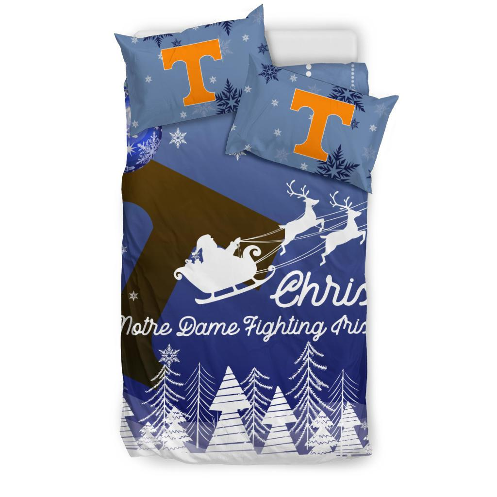 Merry Christmas Gift Tennessee Volunteers Bedding Sets Pro Shop