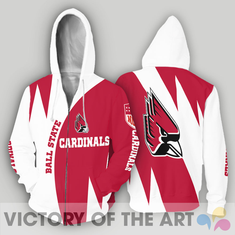 Stronger With Unique Ball State Cardinals Hoodie