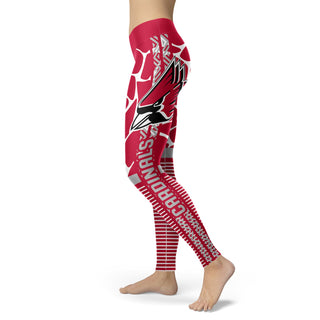 Awesome Light Attractive Ball State Cardinals Leggings
