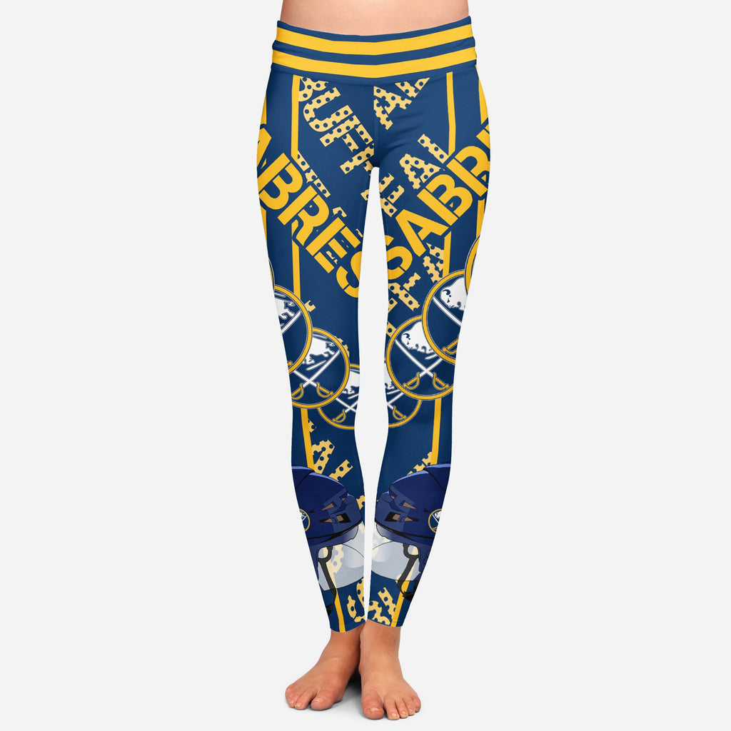 Sign Marvelous Awesome Buffalo Sabres Leggings
